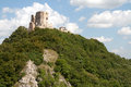Castle of Csesznek Royalty Free Stock Photo