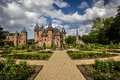 Castle de haar is located near haarzuilens in the province of utrecht in the netherlands the current buildings all built upon the Royalty Free Stock Images