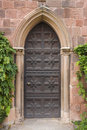Castle door Royalty Free Stock Photo