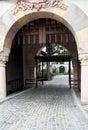 Castle entrance Stock Photography