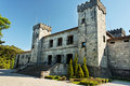 Castle Facade in Caxias do Sul Royalty Free Stock Photo