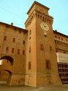 The Castle of Ferrara Royalty Free Stock Photos