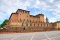 Castle of Fontanellato. Emilia-Romagna. Italy. Royalty Free Stock Photo