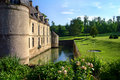 Castle in France Royalty Free Stock Photography