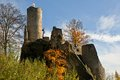 Castle frydstejn ruins in cesky raj czech republic Stock Photography