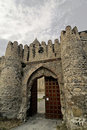 Castle gate Stock Photography