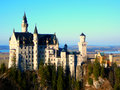 Castle in germany the neuschwanstein bavaria nearly to munich Stock Photo