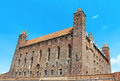 Castle in gniew of the teutonic knights gniewie polska Royalty Free Stock Photography