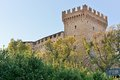 Castle Gradara Stock Photos
