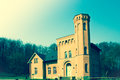 Castle granitz ruegen germany in old style Royalty Free Stock Photo