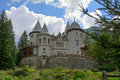 Castle of gressoney saint jean aosta valley italy Stock Photos