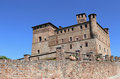 Castle of Grinzane Cavour, Italy Royalty Free Stock Photo