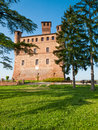 Castle of Grinzane Cavour, Piedmont, Italy Royalty Free Stock Photo