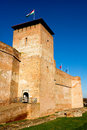 The castle of Gyula Royalty Free Stock Photo