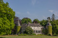 Castle Hackfort near Vorden in Gelderland Royalty Free Stock Photo