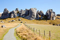 Castle Hill New Zealand Royalty Free Stock Photo