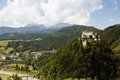 Castle Hohenwerfen Royalty Free Stock Image