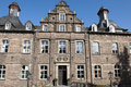Castle hugenpoeth germany in essen is today a hotel its located not far away from dusseldorf airport Royalty Free Stock Photos