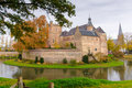 Castle huis bergh s heerenberg gelderland netherlands tower of middle ages in in holland the Royalty Free Stock Photo