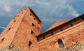The castle on the island. Trakai Royalty Free Stock Photo