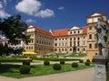 Castle Jaromerice nad Rokytnou Royalty Free Stock Image