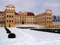 Castle Jaromerice nad Rokytnou Royalty Free Stock Images