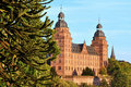 Castle Johannisburg,Aschaffenburg,Germany Royalty Free Stock Photos