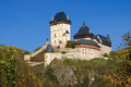 Castle of Karlstejn Royalty Free Stock Photo