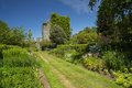 Castle Kennedy and gardens Royalty Free Stock Photo