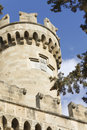 Castle of the Knights at Rhodes Greece Royalty Free Stock Photography