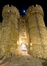 Castle of the Knights at Rhodes, Greece Stock Image