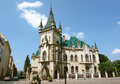 Castle in kosice city old center slovakia Royalty Free Stock Images