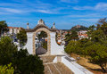 Castle in Leiria - Portugal Royalty Free Stock Photo