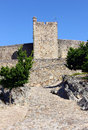 Castle marvao portugal of alentejo Stock Photo