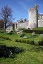 Castle medieval English Arundel Royalty Free Stock Photo