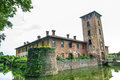 Castle of Mirazzano (Milan) Stock Photo