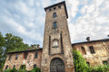 Castle of Mirazzano (Milan) Stock Photos