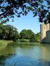 Castle Moat Stock Photography
