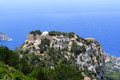 The castle of Monolithos in Rhodes