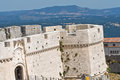 Castle of Monte Sant'Angelo. Puglia. Italy. Royalty Free Stock Images
