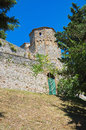 Castle of Montebello. Emilia-Romagna. Italy. Stock Photo