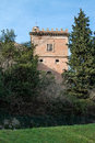 Castle of montiano cesena romagna italy Royalty Free Stock Image