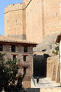 Castle Mora de Rubielos Teruel Spain Royalty Free Stock Images
