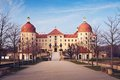 The Castle Moritzburg Royalty Free Stock Photo