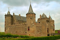 Castle Muiderslot Stock Images