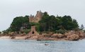 Castle near Perros-Guirec Royalty Free Stock Image