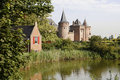 Castle in the Netherlands, Muiderslot Royalty Free Stock Photos