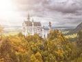 Castle Neuschwanstein in Bavaria Germany Royalty Free Stock Photo