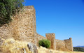 Castle of Noudar, Portugal Royalty Free Stock Photo