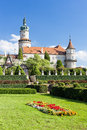 Castle of Nove Mesto nad Metuji Royalty Free Stock Photography